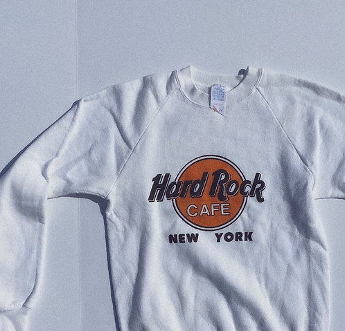 80s Classic AF Hard Rock New York Crew S-M