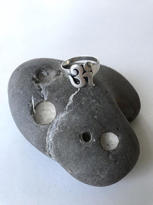 OM Sterling Ring