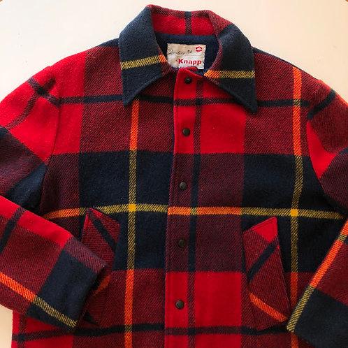 Flannel Knapp Jacket, fits L-XL