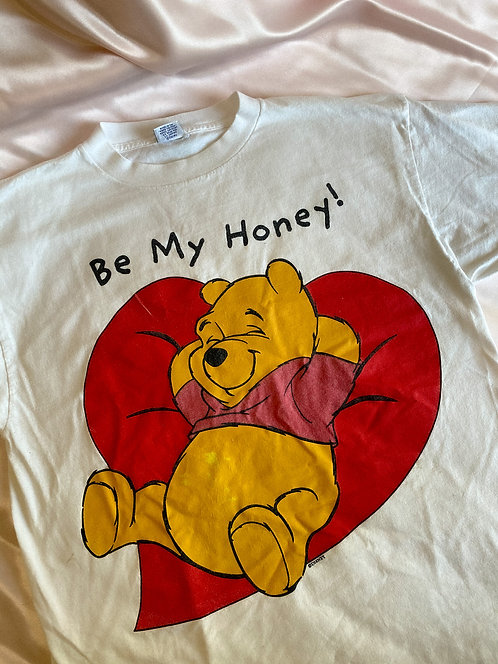 90's Pooh Be My Honey CUTE AS SHIT Tee WOW XL/XXL