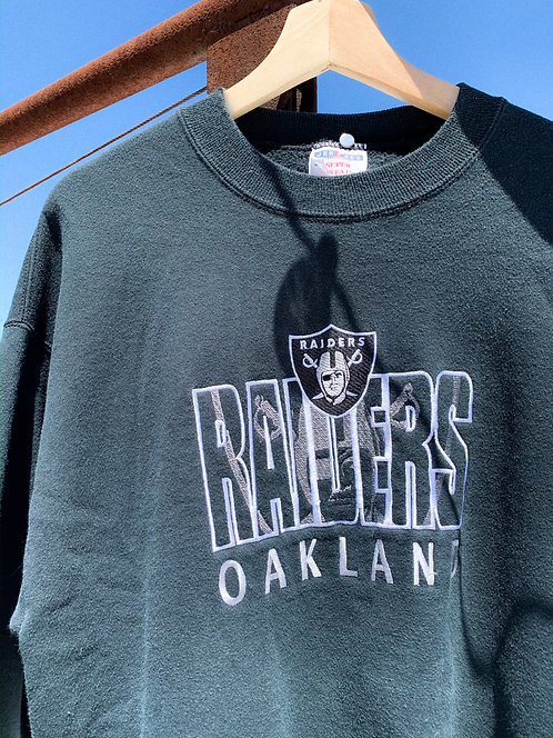 90s Oakland Raiders Block Crew L