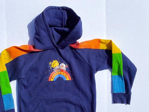 70s/80s RARE Rainbow Brite Hoodie WOW S-M