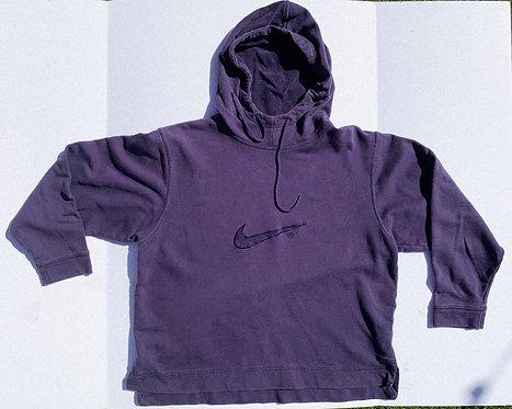 Y2k Navy Light Cotton Nike Hoodie M