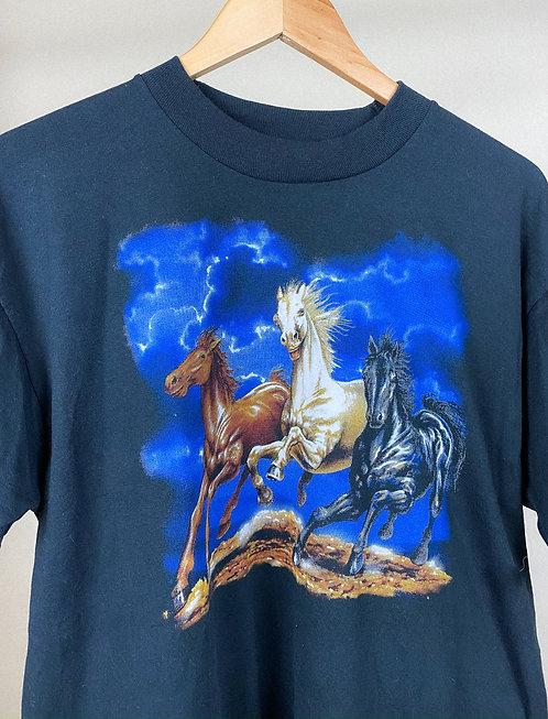 90s Thunder Rodeo Horse Tee L