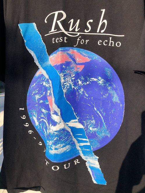 "1996-97 Rush ""Test for Echo"" Tour Tee XL"