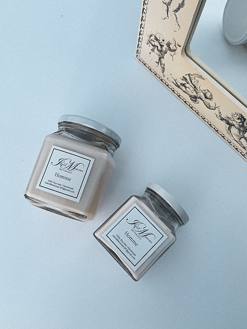 Homme Soy Candle