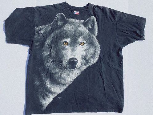 VTG Thrashed Lone Wolf Tee