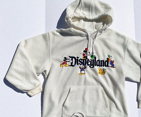 90's COMFY AF Disneyland Fleece M