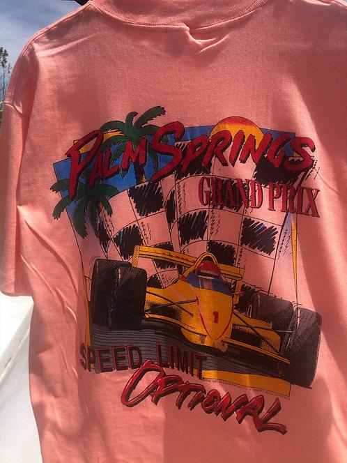 90s Grand Prix Peach Tee