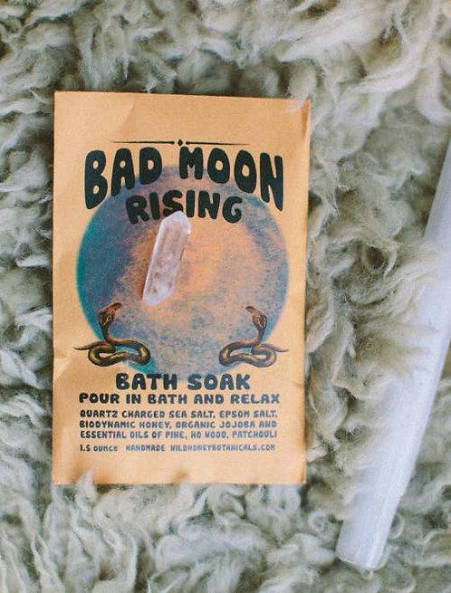 Bad Moon Bath Salt Soak