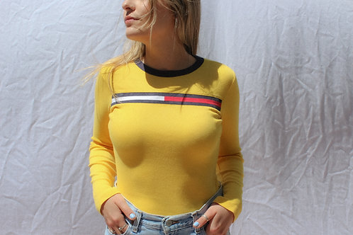 90's Tommy Sk8er Gorl Long Sleeve Tee XS/S