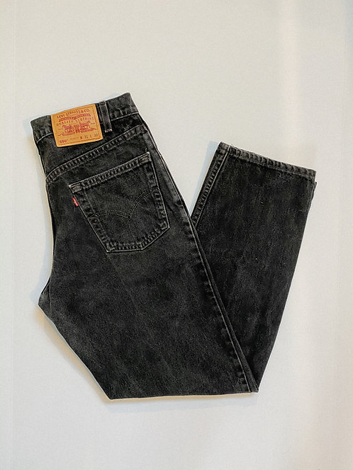 "31"" Black Levi's 550 Denim"