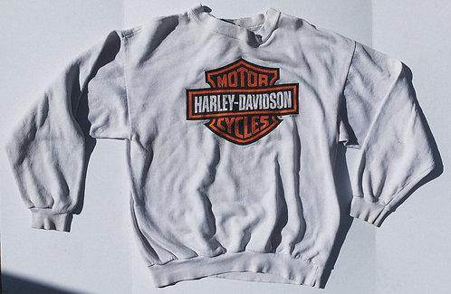 1995 Harley Classic Crest Logo Oregon Crewneck L