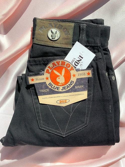 90's INSANE Deadstock Playboy Jeans WOW XS