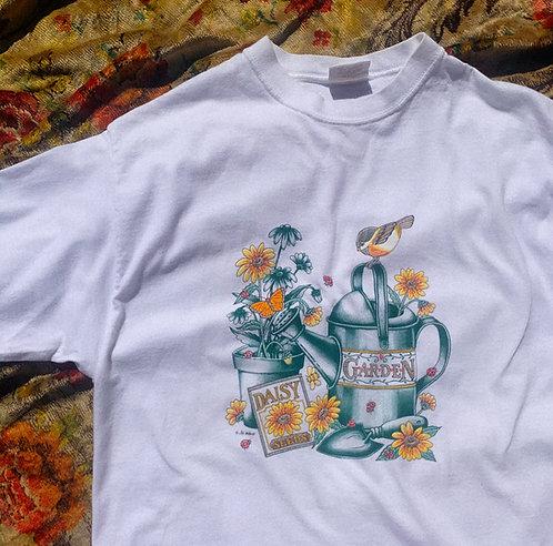 VTG Cute Lil Garden BB Tee M-L