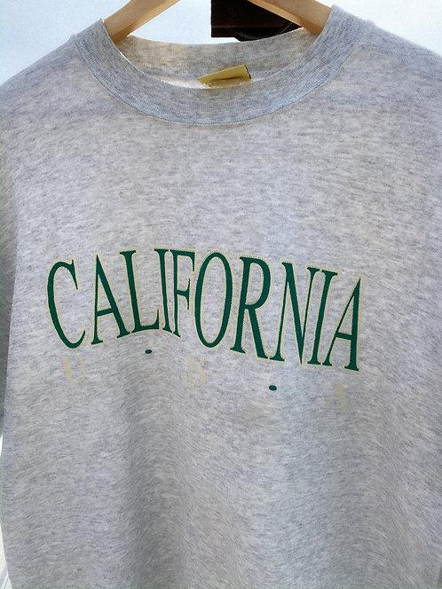 90s California USA Easy Heather Crew M/L