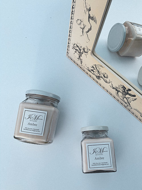 Ambre Soy Candle