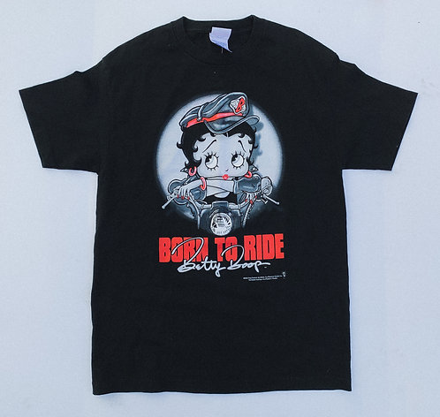 "2002 Betty ""Born To Ride"" Moto Tee"