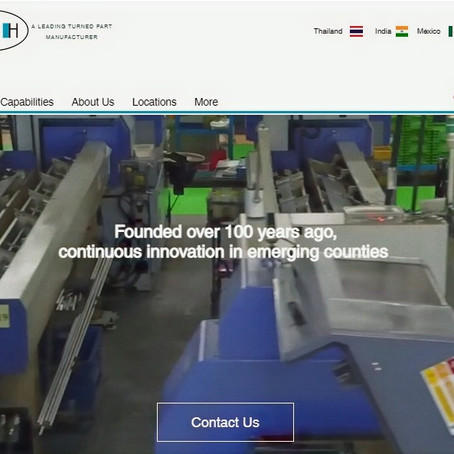 Launch of E&H global corporate Website