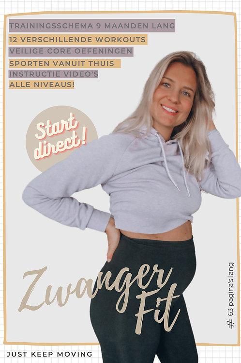 Zwanger Fit E-book