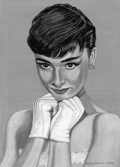 Audrey HepburnBlack & White