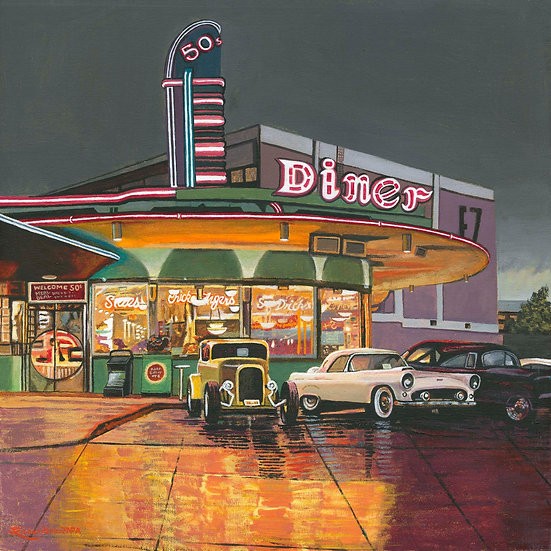 50s American Diner