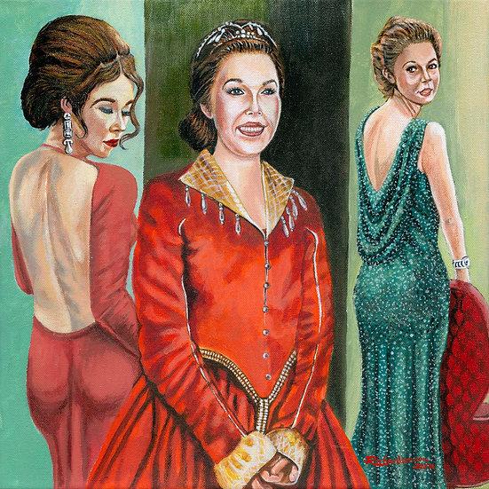 Scarletts three graces