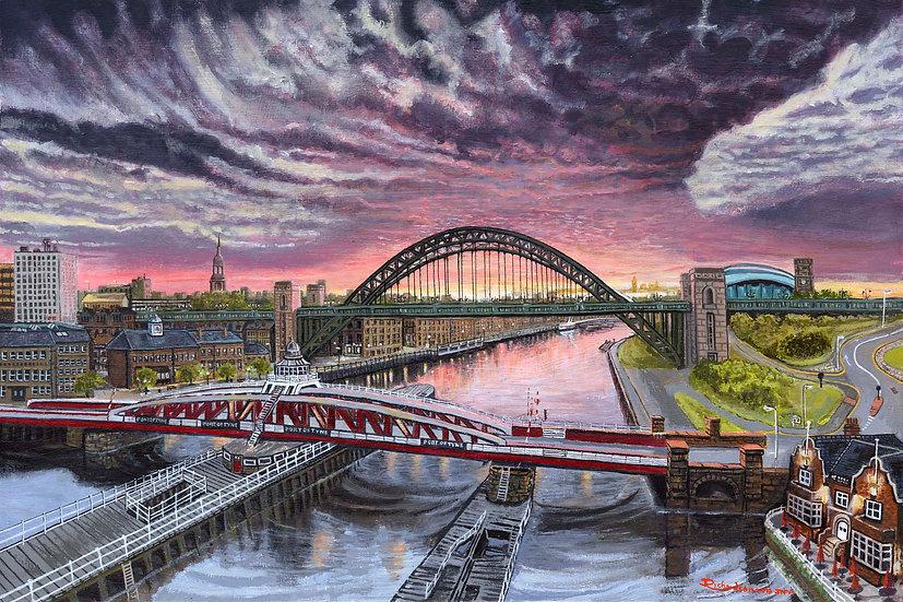 Swing & Tyne Bridge