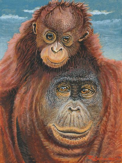 Monkey, Monkey (print)