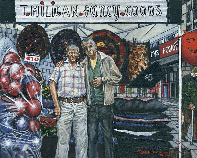 Terry Milligan & Albert