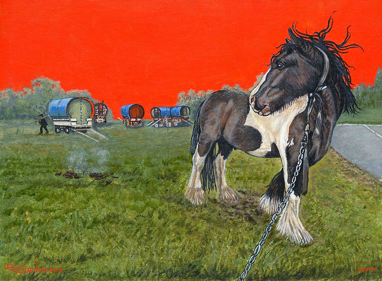 The Gypsies Horse
