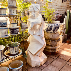 Mable contemporary statue