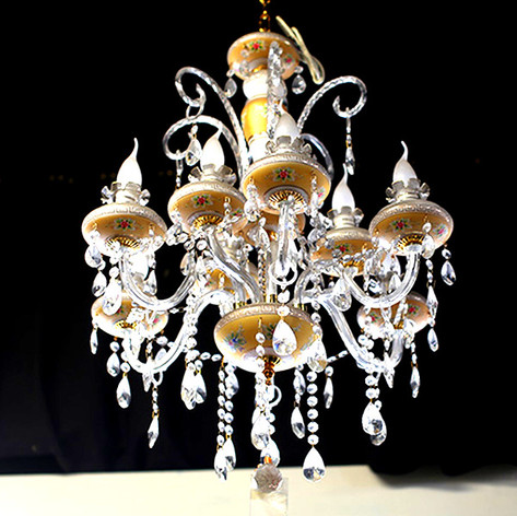 9 Arms Chandelier