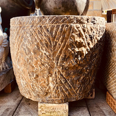 Large stone water trough