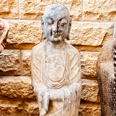 Stone Buddha disciple