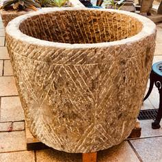 Stone round water trough