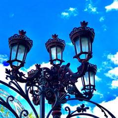 Cast Iron Street Light