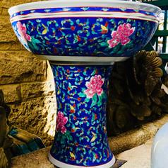 Multi-glazed Porcelain Pot
