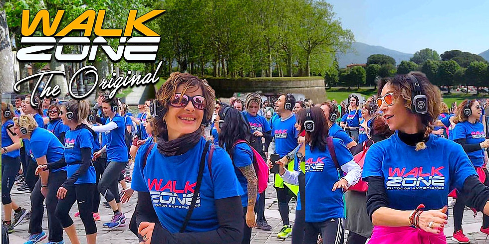 """WalkZone® Lucca """"Lungo le Mura della Città"""""""