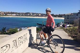 Gabrielle on bike.JPG