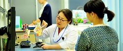 常盤紫野医師の外来診療
