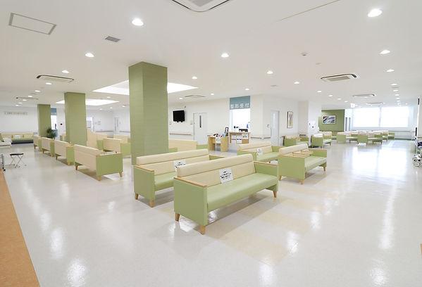 磐城中央病院・外来ロビー.jpg
