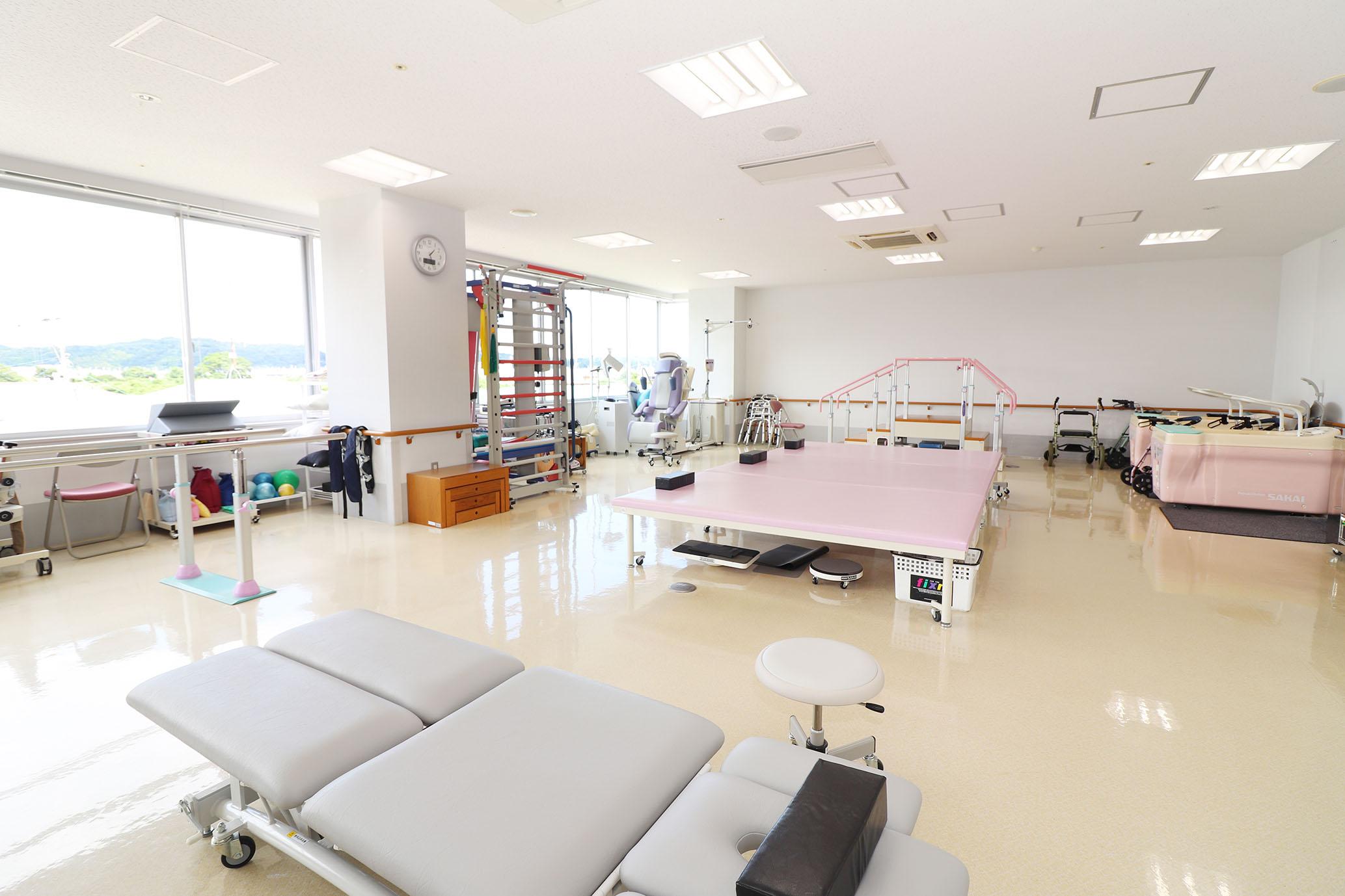 磐城中央病院・リハビリ室