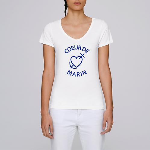 T-Shirt Femme Coeur de Marin