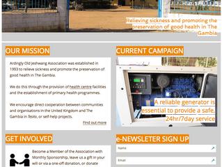 New AOJA website