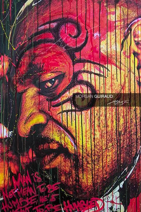 Iron Mike Tyson Boxing Legend Neo Pop Art Portrait