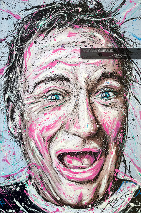 Robin Williams Neo Pop Art Painting