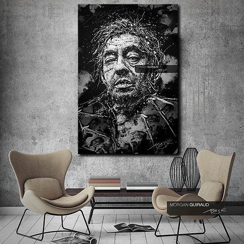 Serge Gainsbourg - Neo Pop Art Portrait