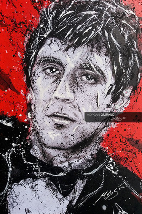 Al Pacino as Tony Montana, Scarface Neo Pop Art
