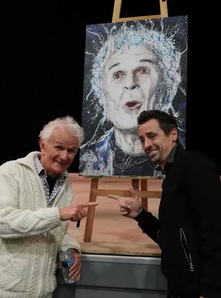 30 ans de scène, la tronche de Daniel Villanova mise à prix pour l'Assosquipic avec live paintin